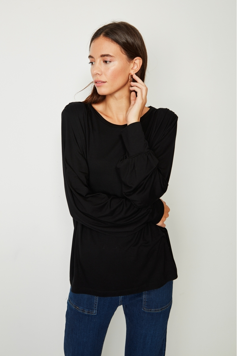 TOP OVERSIZE SHOULDER