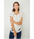 RIPPED ORGANIC COTTON T-SHIRT